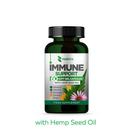 Picture of Hemp CBD Capsules with Piperine 450 mg
