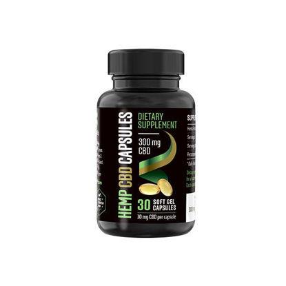 Picture of Hemp CBD Gel Capsules 30 pcs 300 mg CBD