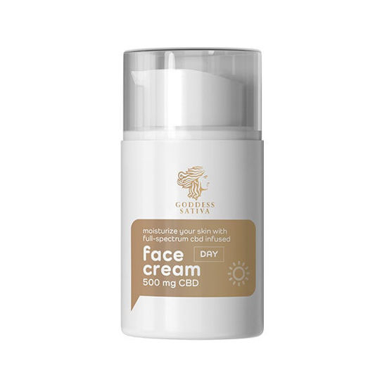 Picture of Moisturising Day Face Cream 500 mg CBD, 50 ml