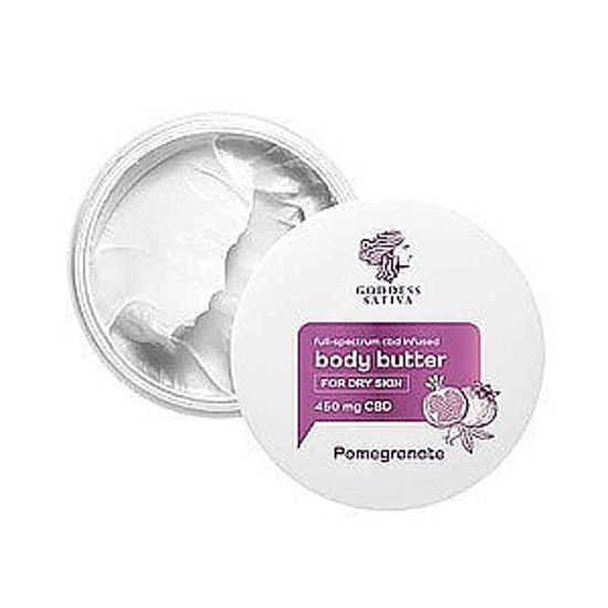 Picture of Body Butter for Dry Skin Pomegranate 450 mg CBD, 100 ml
