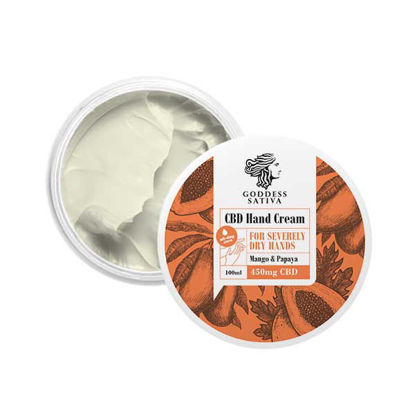 Picture of Hand cream for dry hands 450mg CBD, 100 ml